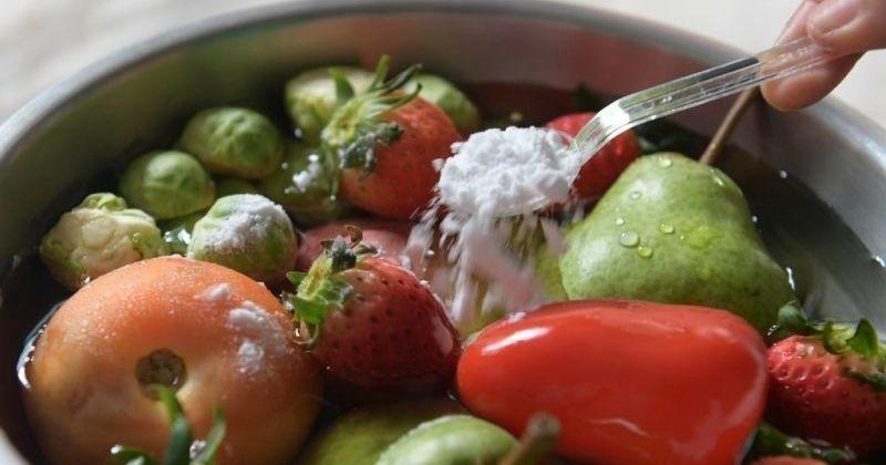 Spalat legume cu bicarbonat de sodiu